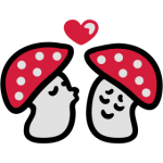 verliebte-Pilze